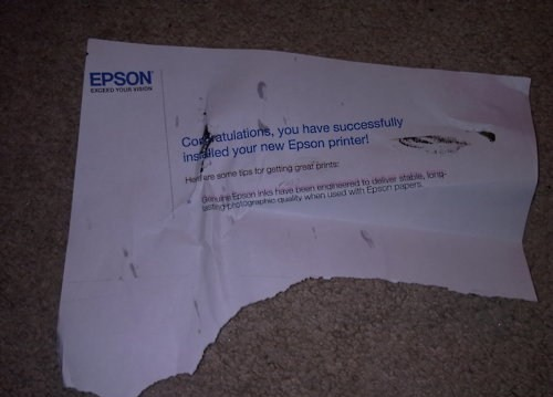 imprimante epson - Quelques images du Net...