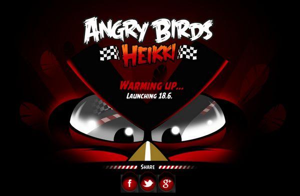 Angry Birds Heikki - Angry Birds sont actifs au mois de mai