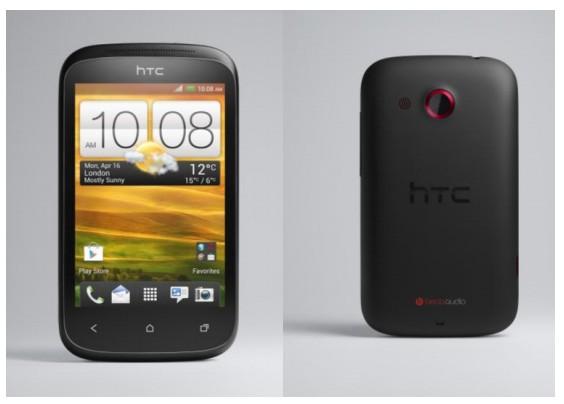 HTC Desire C face et dos - Le HTC Desire C débarque