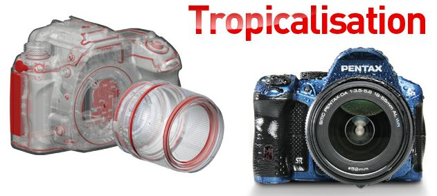 K 30 Tropicalisation - Un reflex Pentax tout terrain