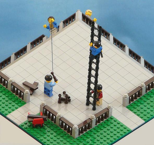 LEGO Terrace Optical Illusion - Site illusion d'optique