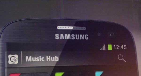 Music Hub Samsung Galaxy S 3 - Lancement de Music Hub de Samsung