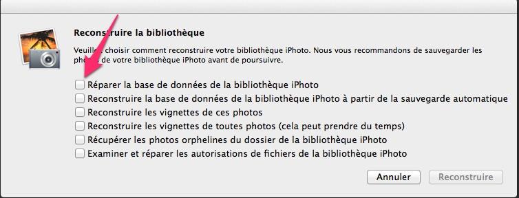 Reconstitution la bibliotheque - Astuce iPhoto - Nettoyage, doublons et optimisation