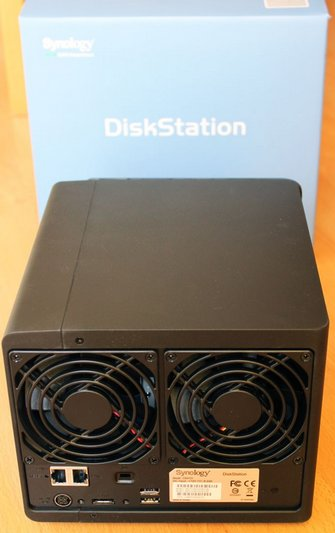 Test DS412+ arriere - Test du Synology DS412+