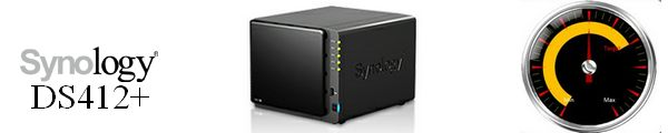 bandeau Synology DS412+ - Test du Synology DS412+