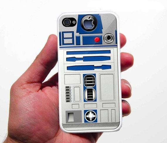 coque R2D2 - Une coque R2-D2 pour iPhone