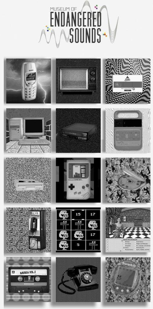 Musée des sons des années 80 et 90