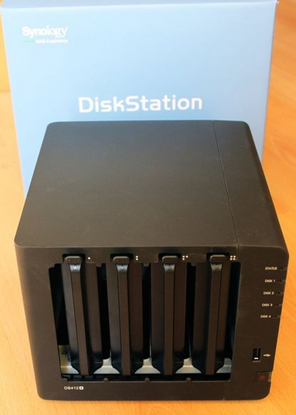 review DS412+ - Test du Synology DS412+