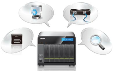 Management Enhancements - QNAP propose son firmware 3.7