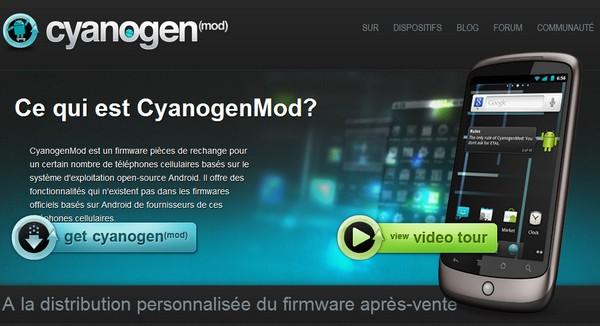 cyanogenmod - CyanogenMod 9 passe en RC