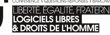 """liberte egalite fraternite 370x120 - Richard Stallman - """"Logiciels libres et droits de l'Homme"""""""