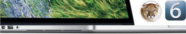 macbook pro mountain lion ios6