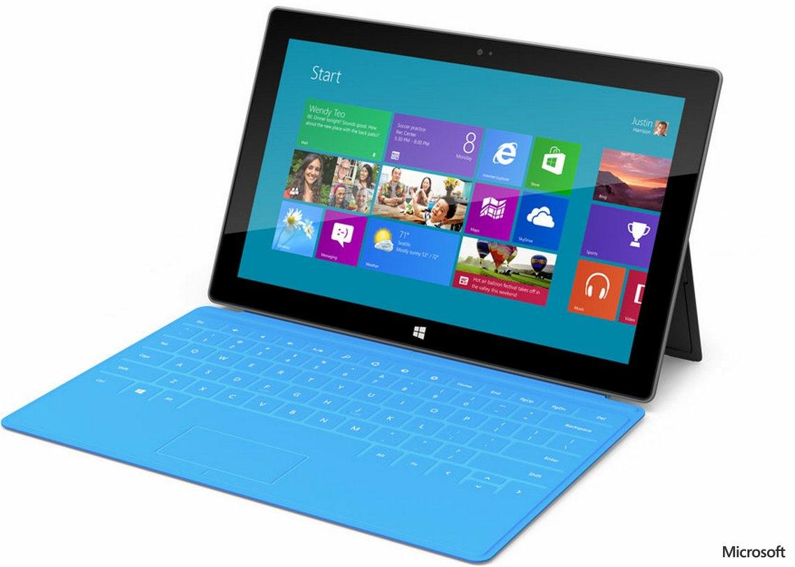 microsoft surface clavier - La tablette Microsoft débarque : Surface
