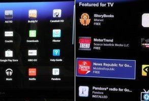 sony google tv app 293x200 - Sony - Google Tv débarque en juillet