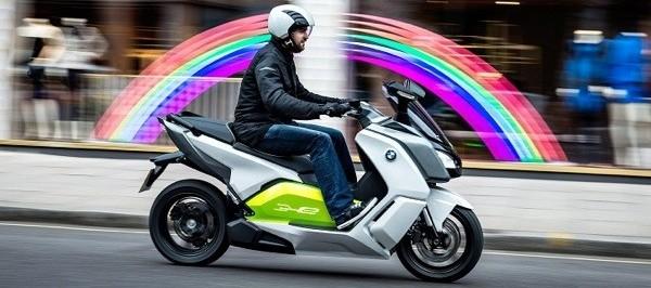 BMW Concept e sur route