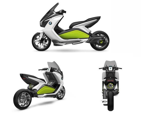 BMW Concept e - Scooter - BMW Concept e