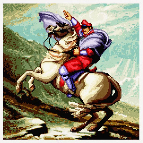Bison cheval - Pixel Art