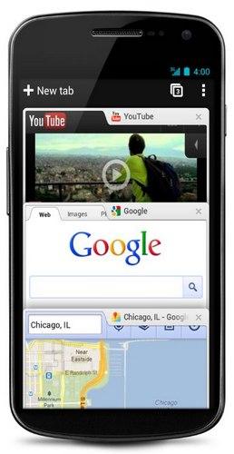 Google Chrome android - Bilan des annonces de la Google I/O