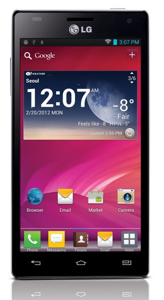 LG Optimus 4X HD - LG lance l'Optimus 4x HD et Optimus Vu