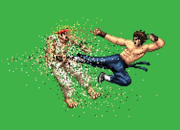 Pixel Art Cachem