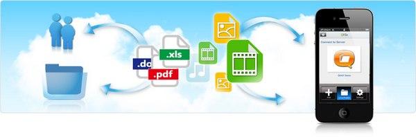 Qfile acceder donner - QNAP - Qfile & Qmanager