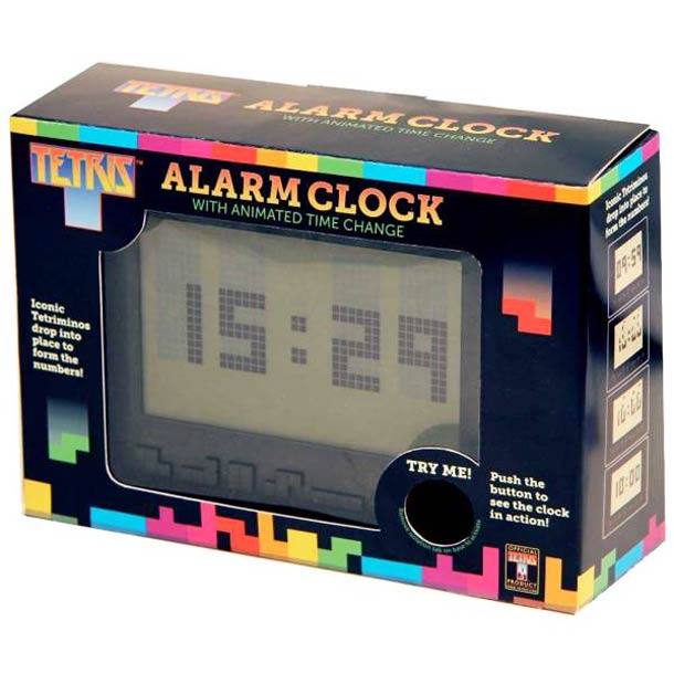 Tetris Alarm Clock - Le réveil Tetris