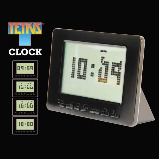 Tetris Reveil horloge - Le réveil Tetris