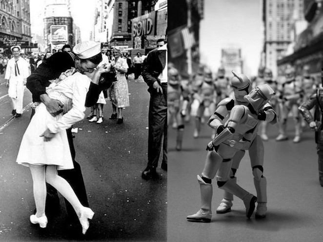 baiser new york - 365 jours de Star Wars