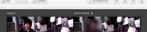 bandeau flou visages - YouTube ajoute le floutage de visage