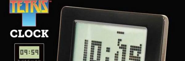 bandeau tetris clock alarme reveil - Le réveil Tetris