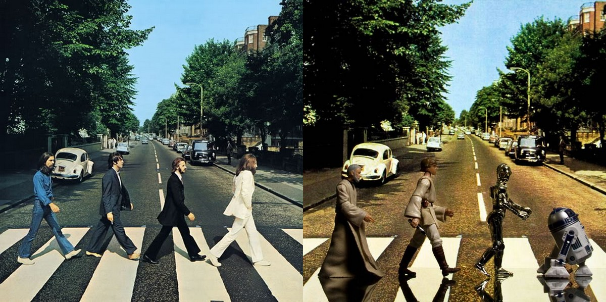 beatles abbey - 365 jours de Star Wars