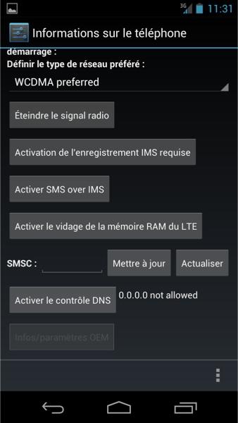 capture smsc - Problème de SMS avec android ?