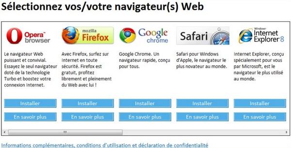 choix navigateur windows - Choix du navigateur : amende de 7 milliards de dollars pour Microsoft