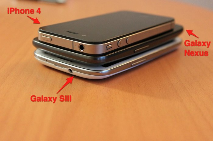 iphone nexus s3 pose.jpg - Samsung Galaxy SIII, le meilleur mobile au monde ?