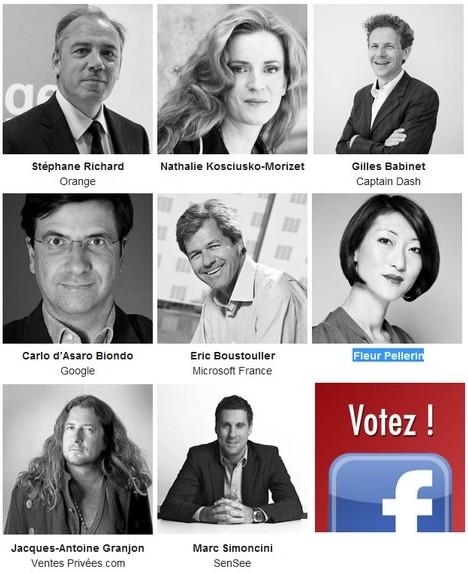 personnalites influentes de l annee 2012 hubforum paris - Hub Forum 2012 - Les nominés sont...