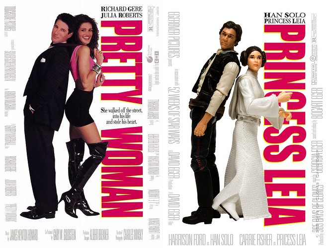pretty woman - 365 jours de Star Wars