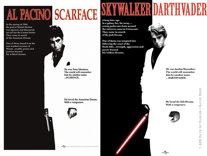 scarface - 365 jours de Star Wars