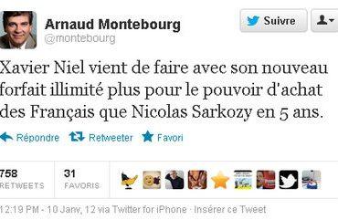 tweet Arnaud Montebourg Free 370x241 - Hausse des forfaits mobiles
