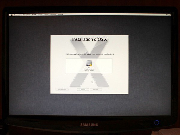 Disque dur installation hackintosh - Installer OS X Mountain Lion sur un PC
