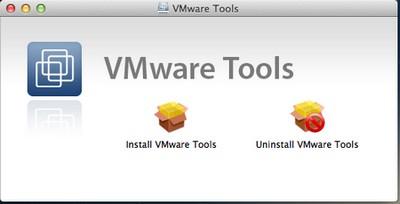 VMware Tools - VMware – OS X 10.8 Mountain Lion sur PC Windows