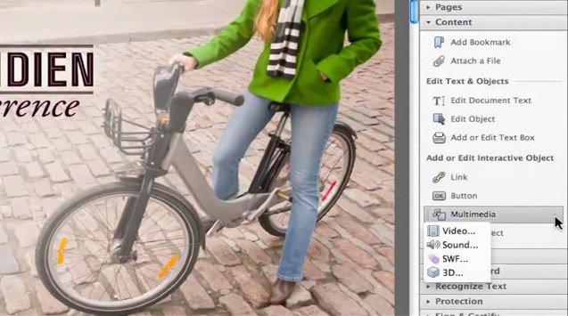 adobe acrobat x pro - De la vidéo dans un document PDF