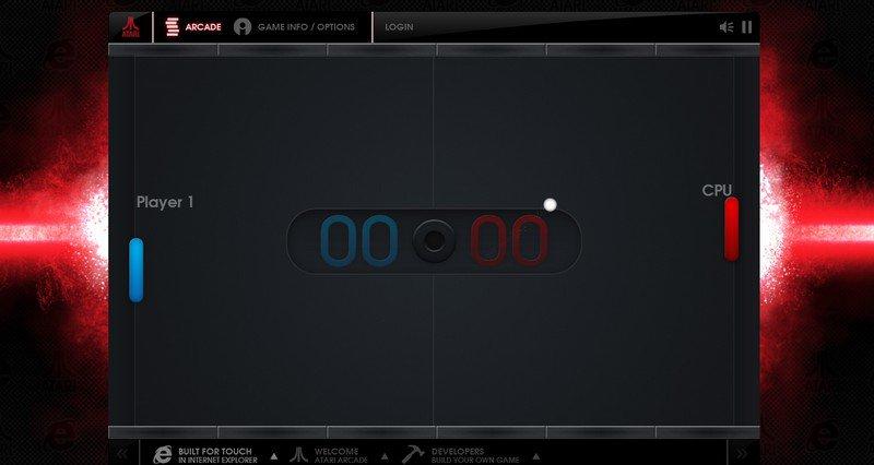 atari pong - Jouer gratuitement avec Atari et Microsoft
