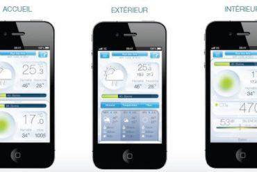 capture iphone netamo 370x247 - Netatmo - Une station météo pour smartphone