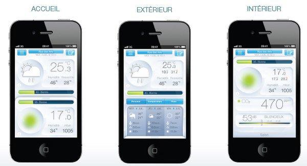 capture iphone netamo - Netatmo - Une station météo pour smartphone