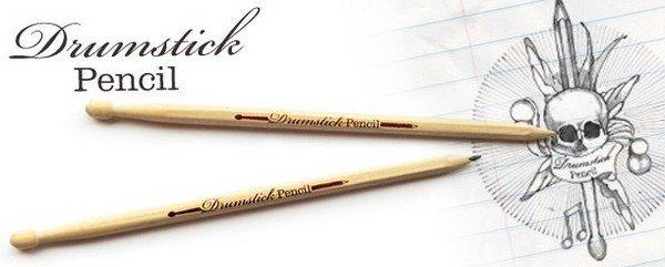 crayon de papier baguette batterie - Boutique Suck, des produits très spéciaux