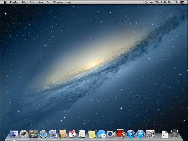 ecran en moutain lion - VMware – OS X 10.8 Mountain Lion sur PC Windows