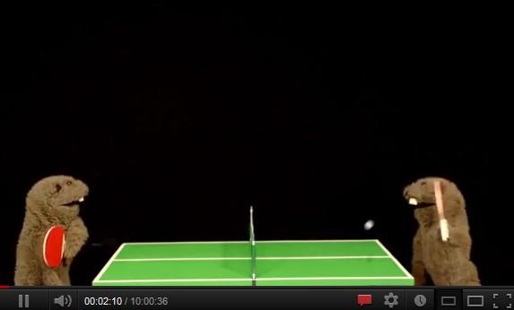 fafa ping pong - La vidéo débile du jour