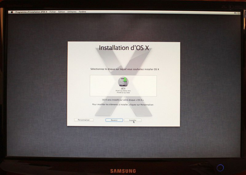 installation hackintosh - Installer OS X Mountain Lion sur un PC