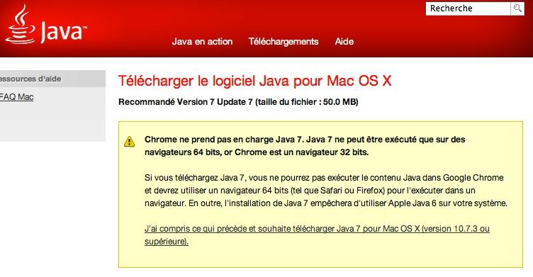 mise a jour java 7u7 - La mise à jour Java enfin disponible