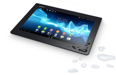 xperia tablet s eau - Sony annonce sa tablette Xperia Tablet S